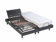 Lit electrique Epeda Cosmo relax + matelas Cosmo Latex 80x200