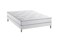Ensemble Simmons matelas Sensoft Firm + sommier 140x190