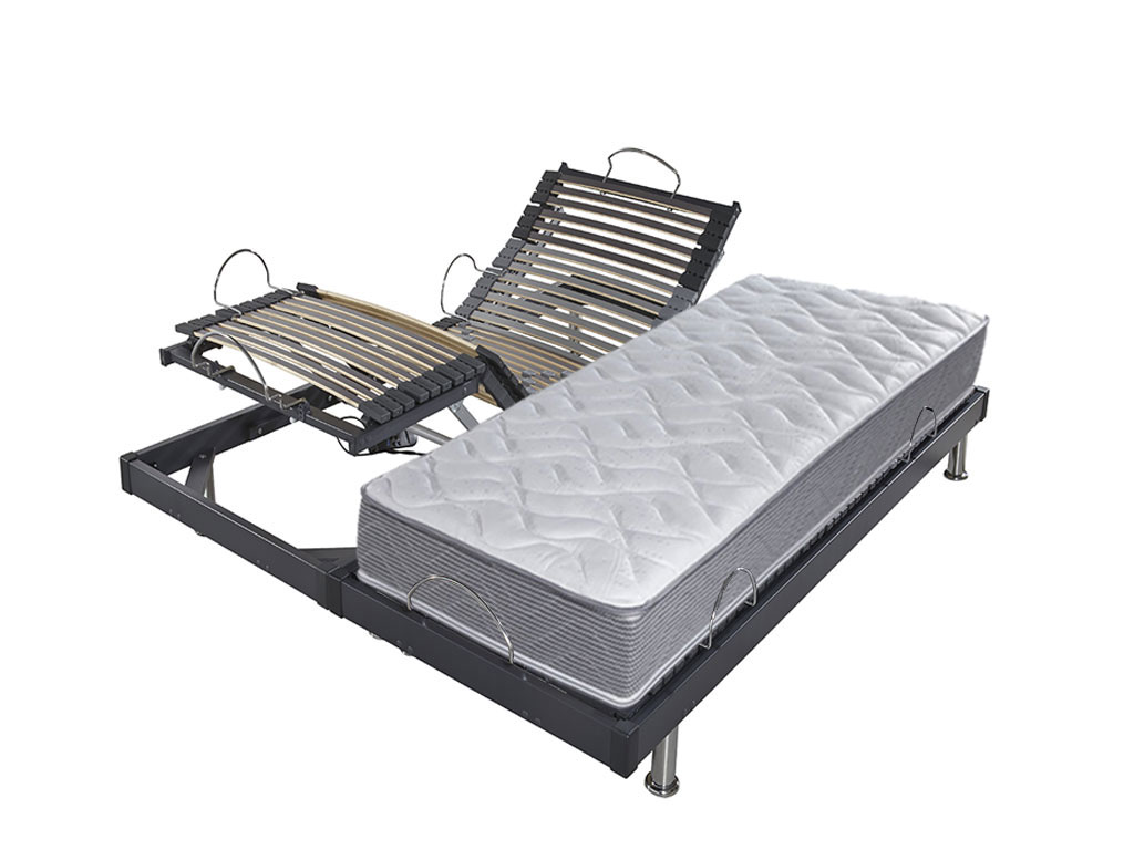 lit electrique ebac s61 matelas onde 2x70x190. Black Bedroom Furniture Sets. Home Design Ideas